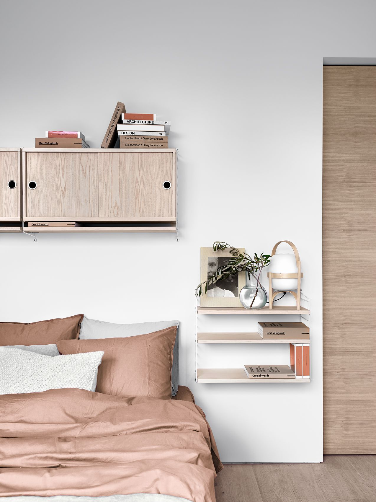 Einladendes Schlafzimmer in vollen Rosa-Tönen | #connox ...