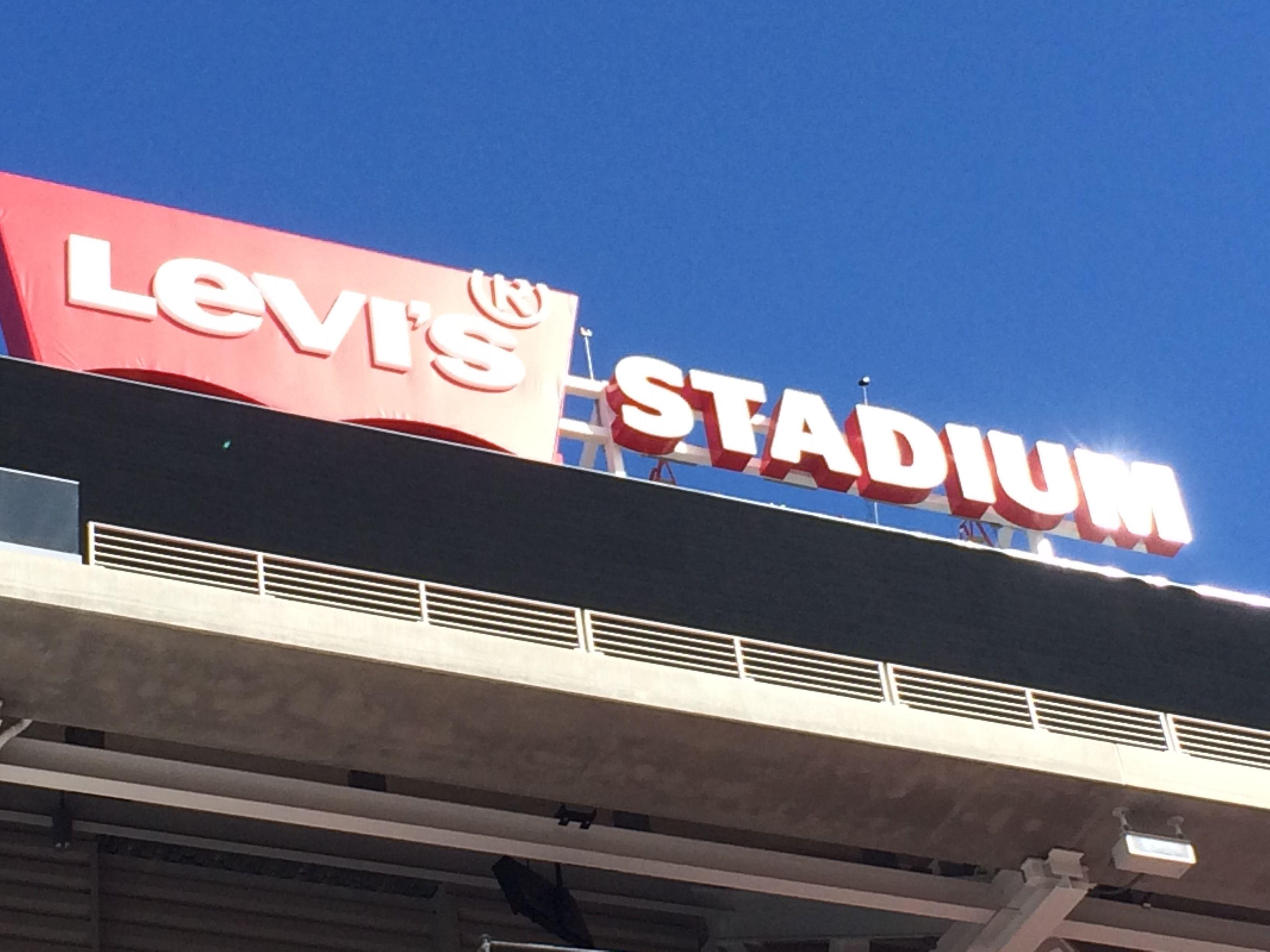 Levis stadium levi stadium neon signs stadium
