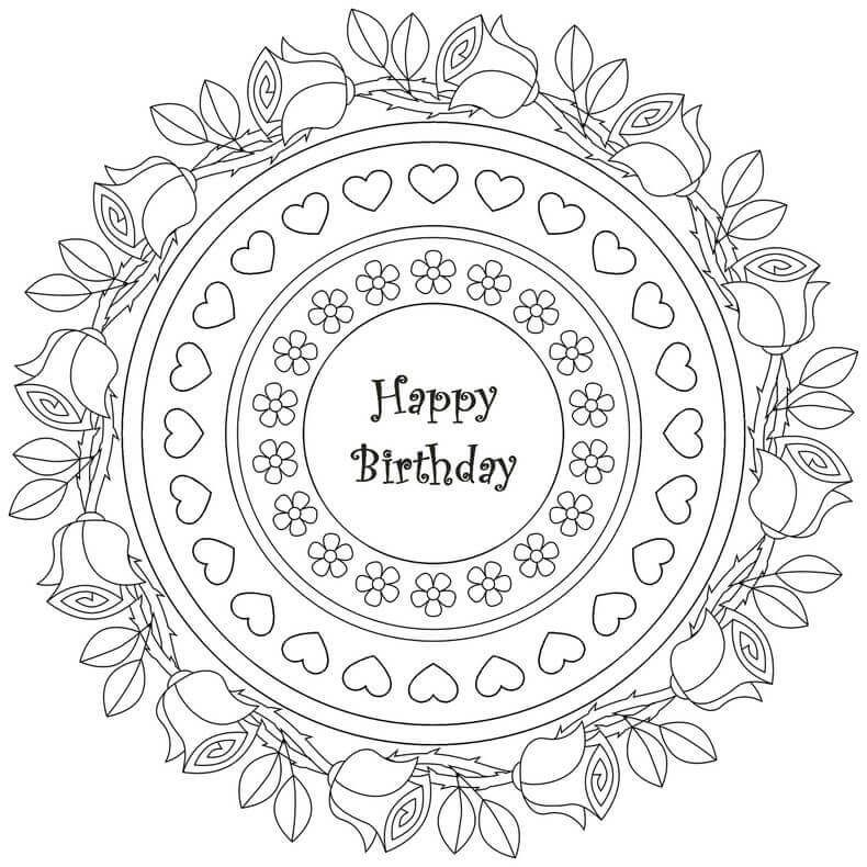 Happy Birthday Coloring Pages Coloring Rocks Happy Birthday Coloring Pages Birthday Coloring Pages Birthday Cards To Print