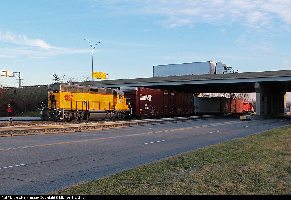 AA 1337 Ann Arbor Railroad EMD GP402 at Toledo, Ohio by