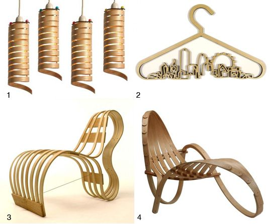 SIXIXIS BENT WOOD FURNITURE London Design Week Preview  Designs