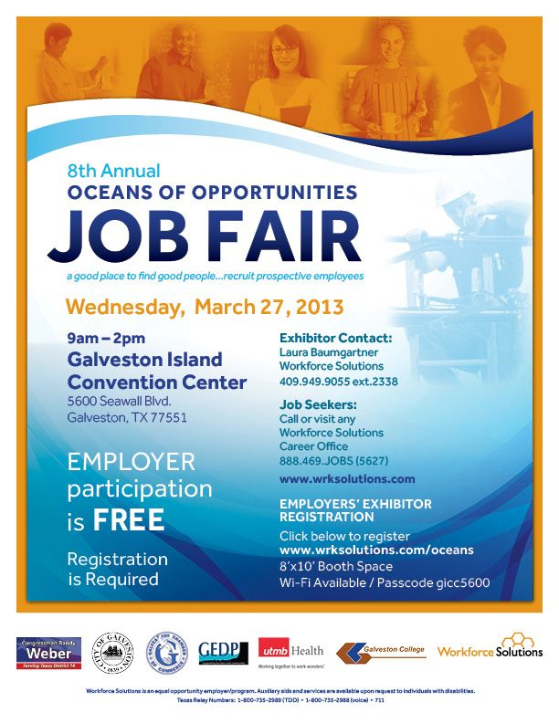 Oceans Of Opportunities Job Fair  Dtp Ideas    Job Fair
