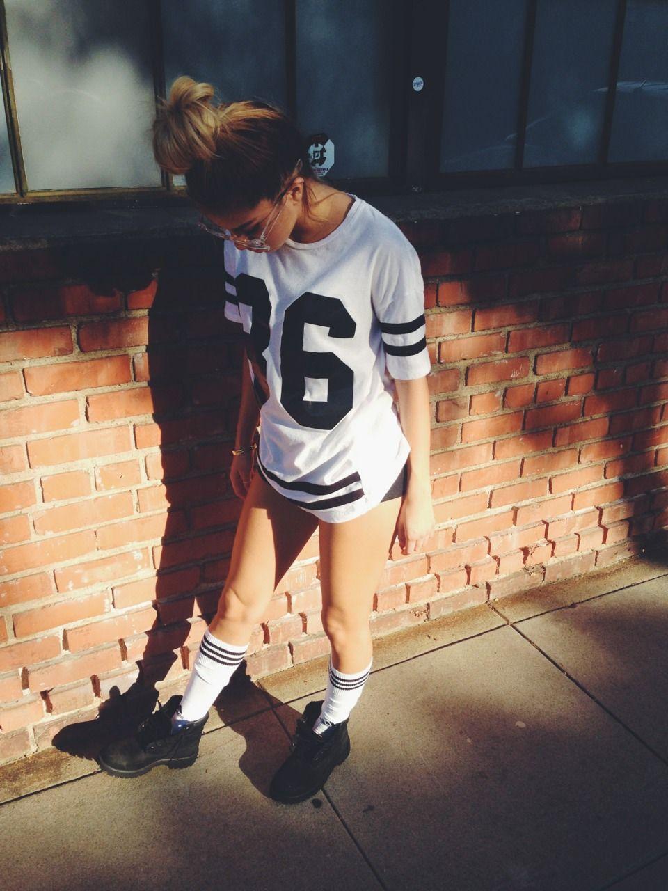 Black t shirt dress ebay - Womens Oversized 86 American Baseball Tee T Shirt Top Stripe Varsity Dress Ebay