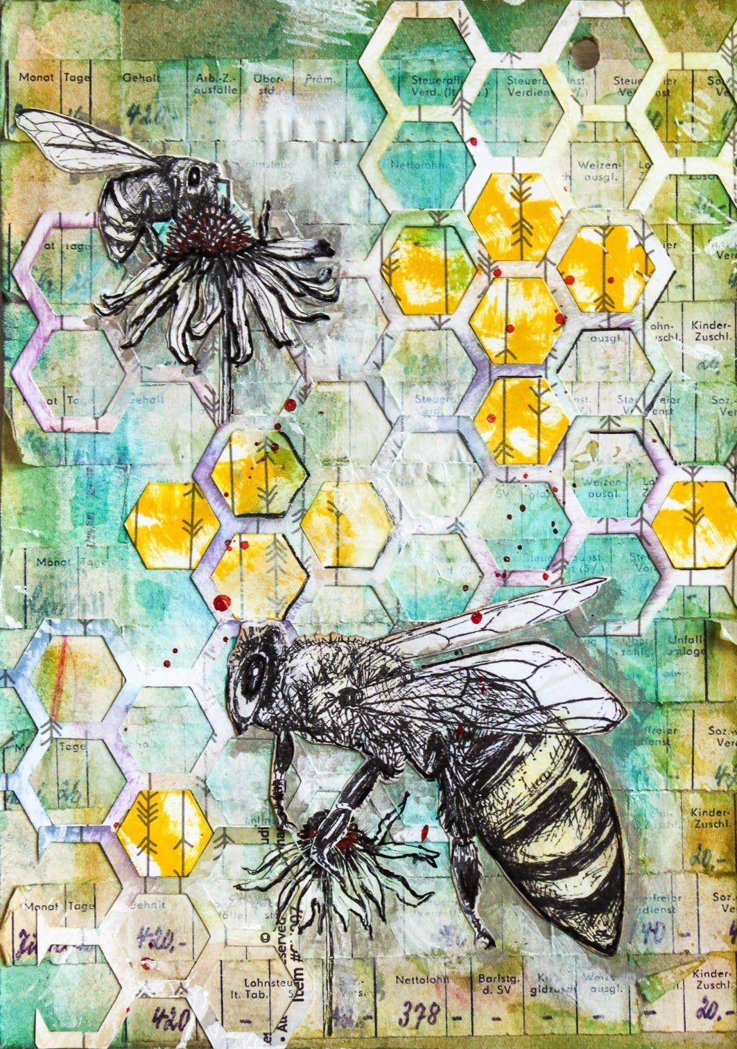 Scrapmanufaktur: Summ Summ Summ .... - Art Journal Page