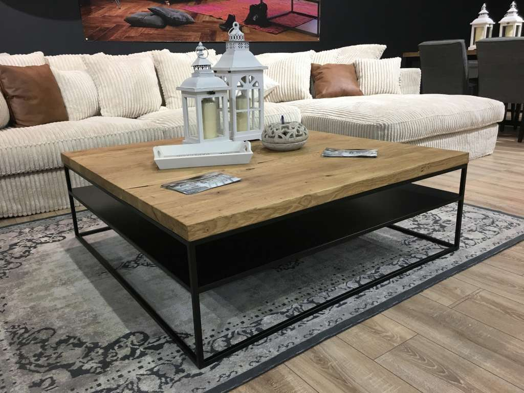 Couchtisch Eiche Massiv Stahlgestell Couchtisch Eiche Massiv Stahlgestell Coffee Table Solid Coffee Table Marble Tables Living Room