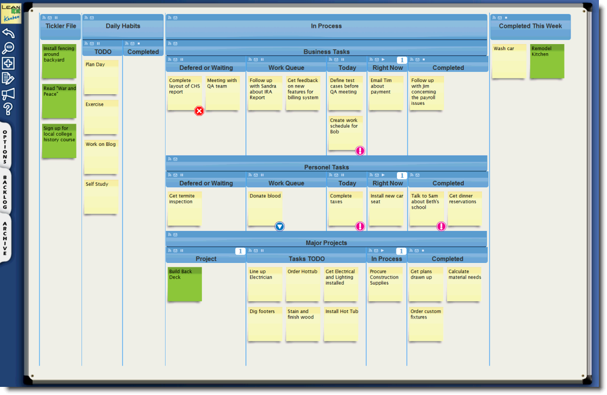 15 Juicy Kanban Board Templates For Excel Free Tipsographic Kanban Board Kanban Personal Kanban