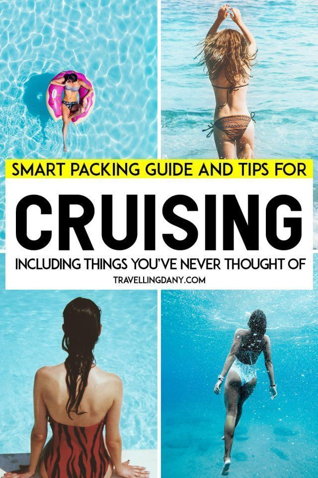 Smart cruiser tips: how to pack right