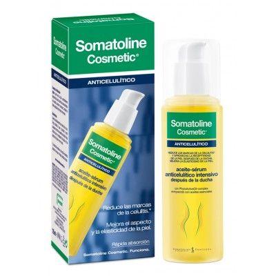 Somatoline Cosmetic Aceite Serum Anticelulitico Intensivo 125ml