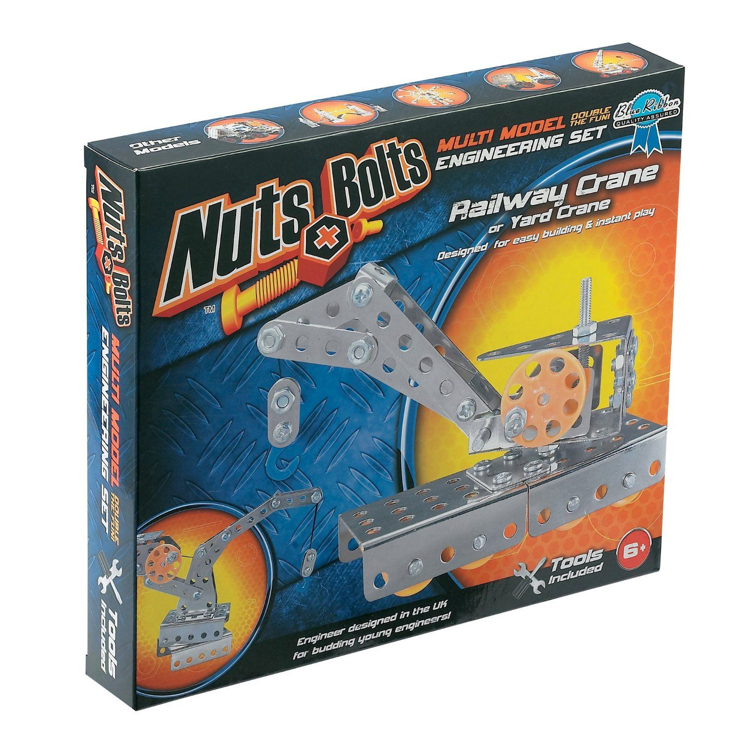 Nuts And Bolts Series 2 Multi Model Assortment Each Set