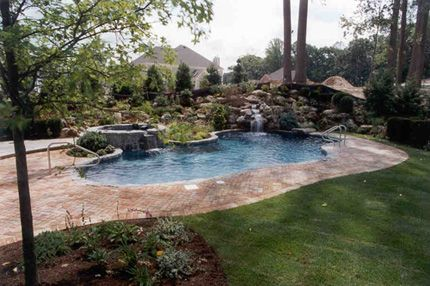 Gunite Swimming Pool Designs Paco Pools And Spas Serving Long
