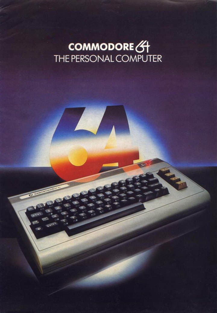 aslightcaseofoverbombing: Commodore 64: The Personal