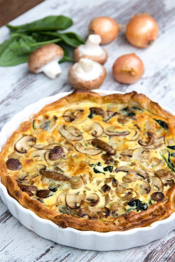 Photo of rezept-quiche-mit-spinat-zwiebeln-champignons-gorgonzola-ei-creme-fraiche-01-1