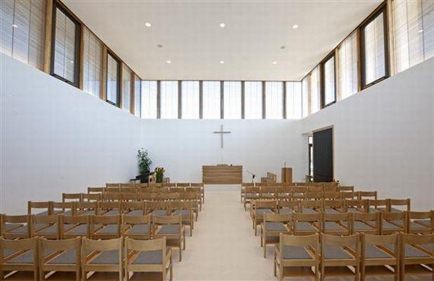 Innenansicht Neuapostolische Kirche In Neuhausen