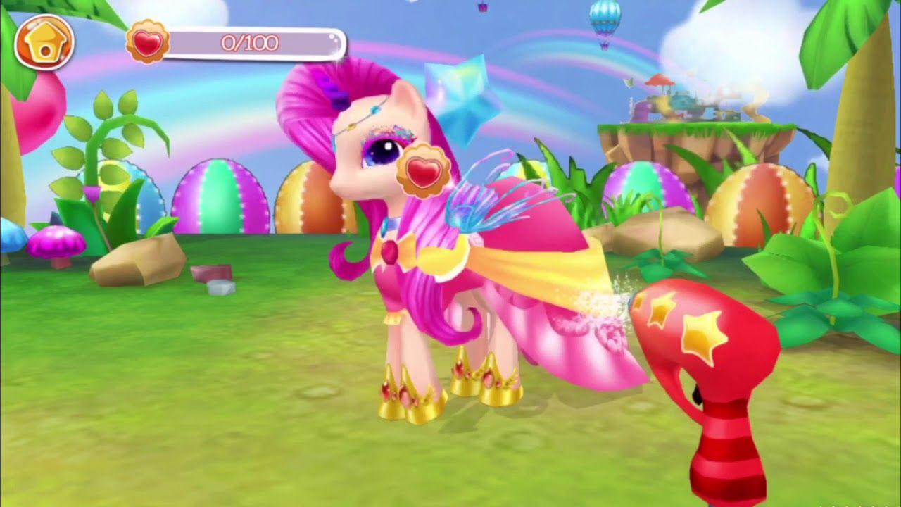 Coco pony my dream pet dress up race really cute
