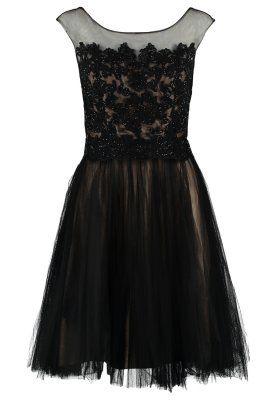 Vestito elegante - schwarz/nude