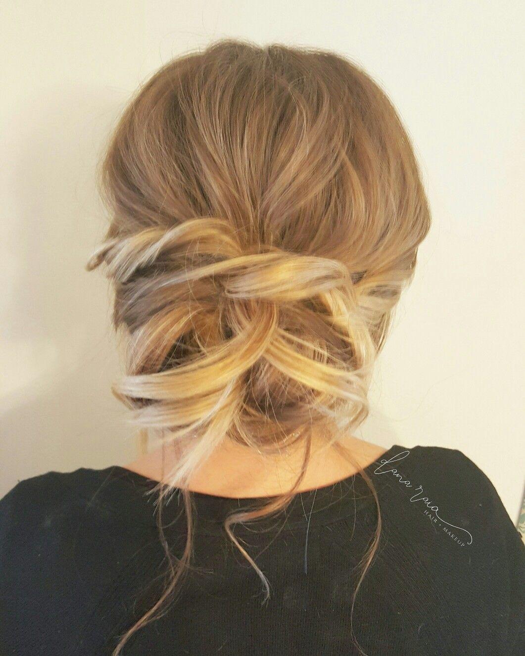 Soft and romantic bridal hair danaraiabridal danaraiabridal