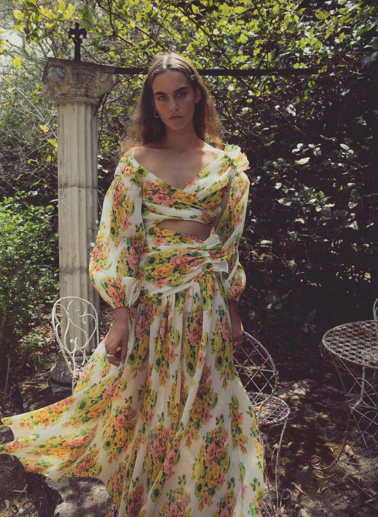 0d1c3abdf1 Editorial The Golden Surfer Midi Dress from our Spring 18 Ready-to-Wear  Collection features in the current issue of ELLE Australia.