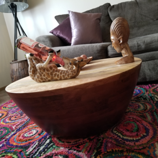 Avani Coffee Table Pier 1 With Images Coffee Table Mahogany