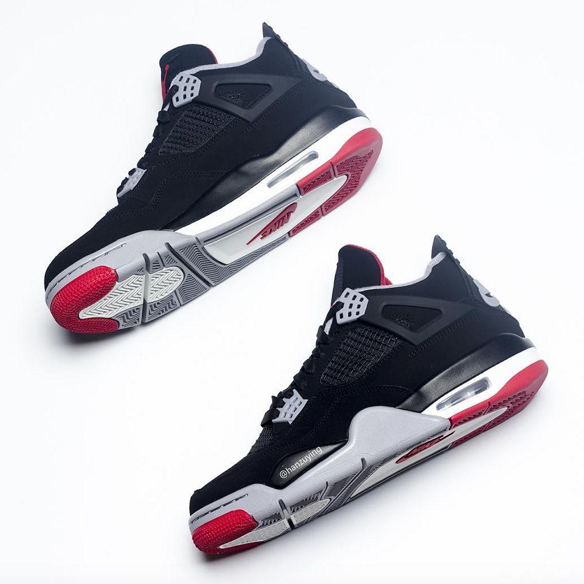 sneakers for cheap 3cb2e b5840 Jordan 4 Bred 2019 308497-060 Release Date   SneakerNews.com