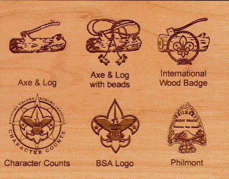 Wood Badge Name Tag Alder Wood | QuartermasterStore.com ...