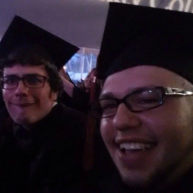 Repost from @krum_9192 via @igrepost_app: Graduation finally lol #mc3 #ThinkBigGrad #goodtime #memories #bff #fun #lol @jake_jake_75