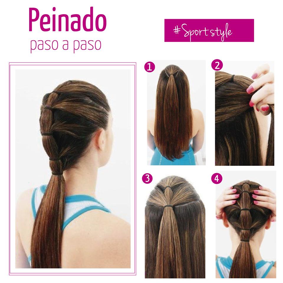 Ideas bonitas para peinados deportivos Imagen de cortes de pelo consejos - Peinado super lindo y sencillo #Sportstyle | Peinados ...