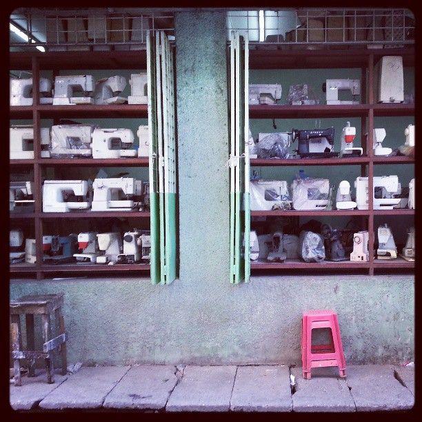 Sewing market, Yangon, Myanmar #wayfairer #way_fairer