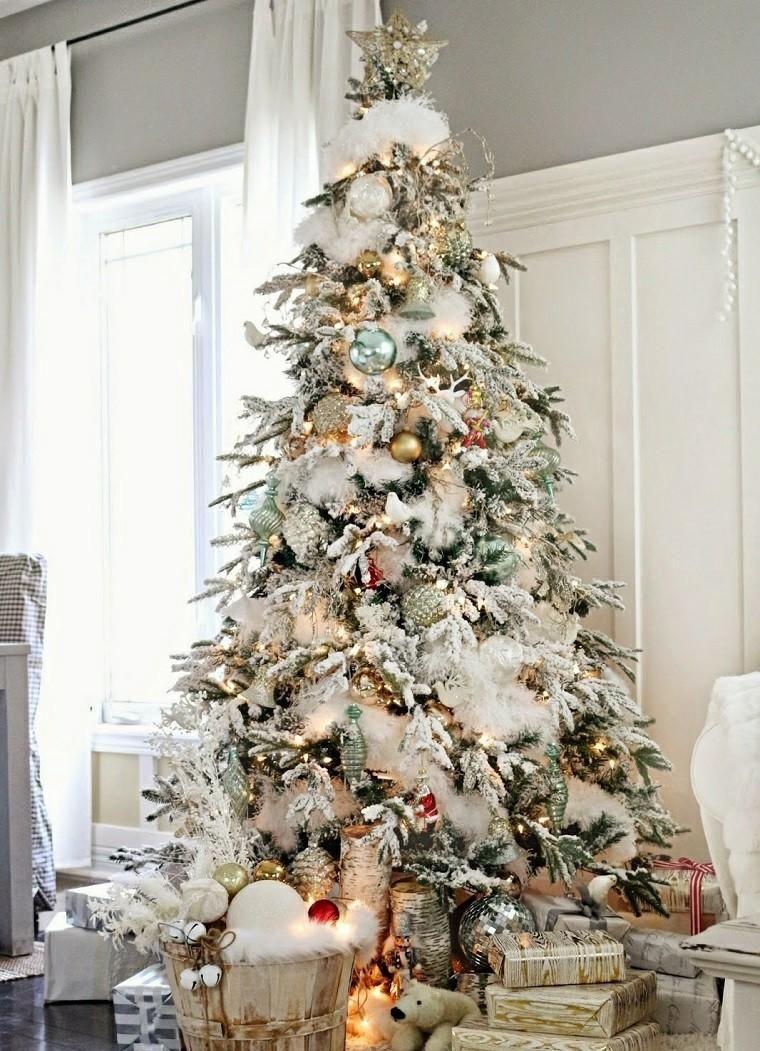 weihnachtsbaum 50 wertvolle ideen zum dekorieren weihnachtsb ume pinterest weihnachten. Black Bedroom Furniture Sets. Home Design Ideas