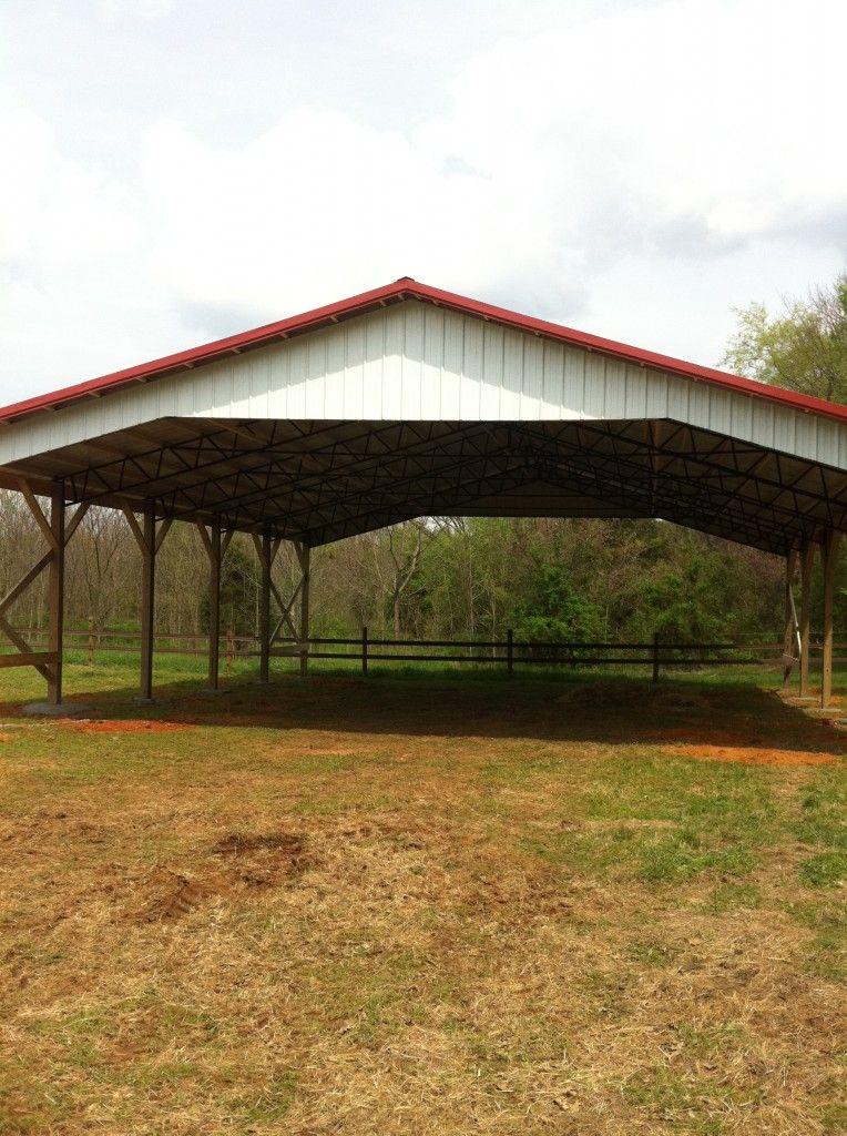 40-x-50-Pole-Barn-Picture | Barn and Farm Ideas | Barn house