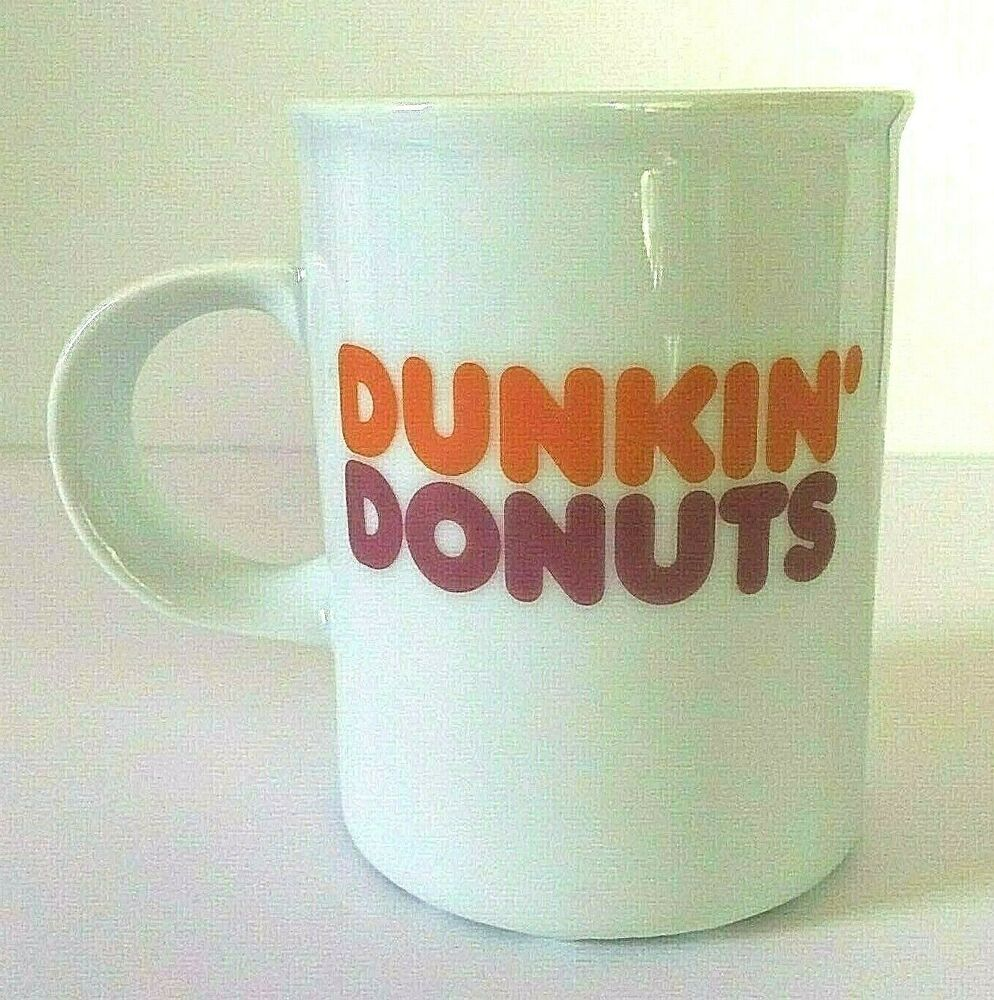 Details about 2011 Dunkin' Donuts Logo Coffee Cup White