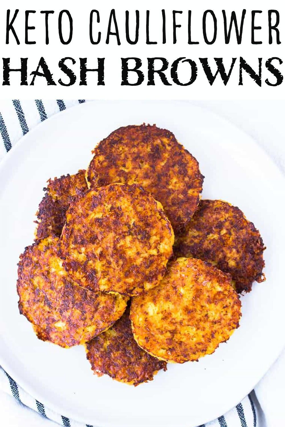 Hot Tips: Keto Diet Breakfast Cauliflower Hash Browns