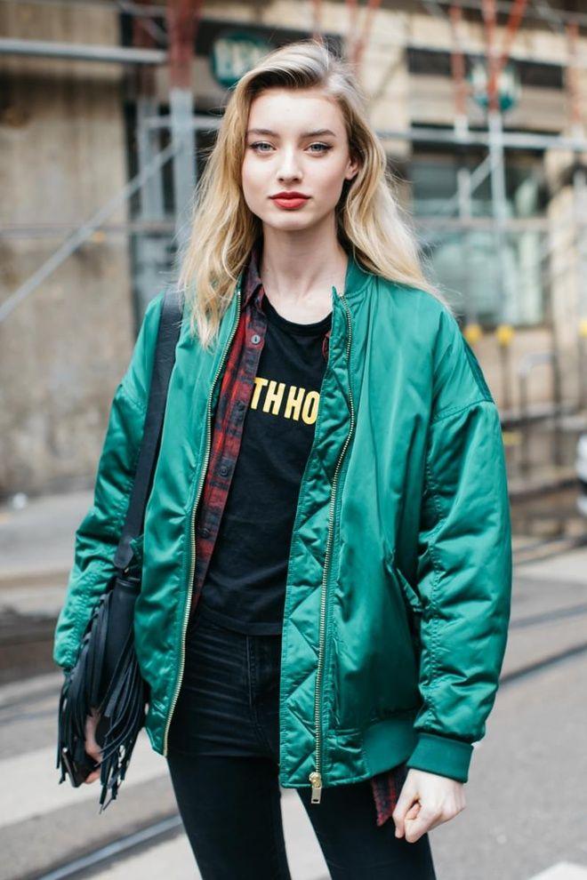 Street style la fashion week automne hiver 2017 2018 de milan tendances fashion weeks et chic - Style automne 2017 ...