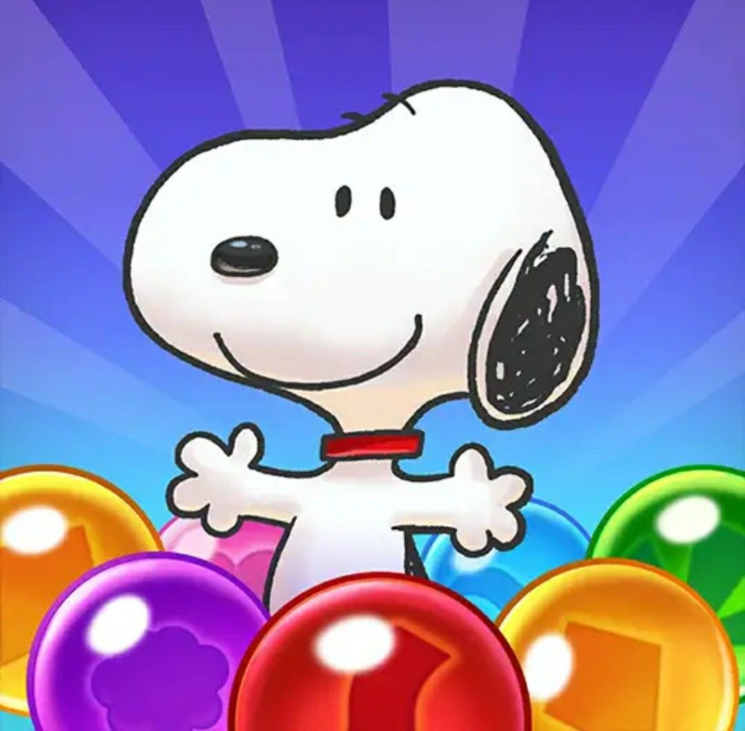 Snoopy / Line games Bubble games, Snoopy, Pop bubble