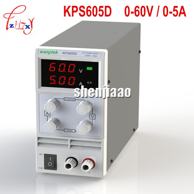 220v 110v Dc Power Supply Kps605d 60 V 5a Single Channel Adjustable Smps Digital 0 1 V 0 01a Dc Adjustable Power Supply Power Supply Led Power