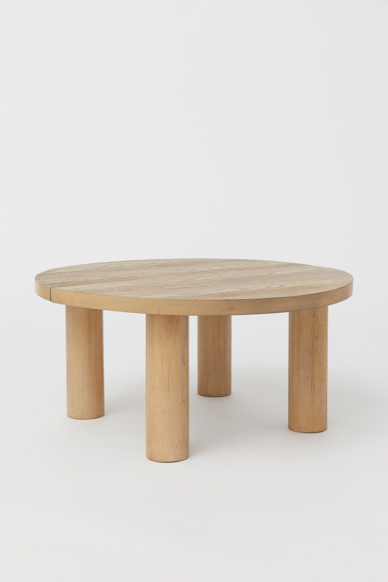 Round Coffee Table In 2020 Coffee Table Round Wood Coffee Table