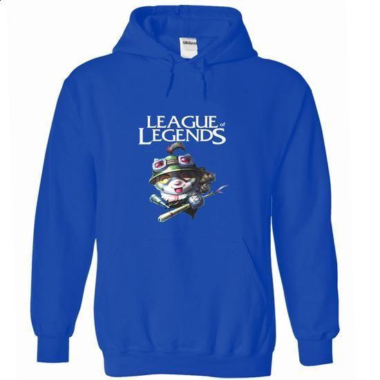 Hero Teemo - League of Legends - Hoodie - #shirt design #sweatshirt diy. I WANT THIS => https://www.sunfrog.com/Gamer/Hero-Teemo--League-of-Legends--Hoodie.html?68278