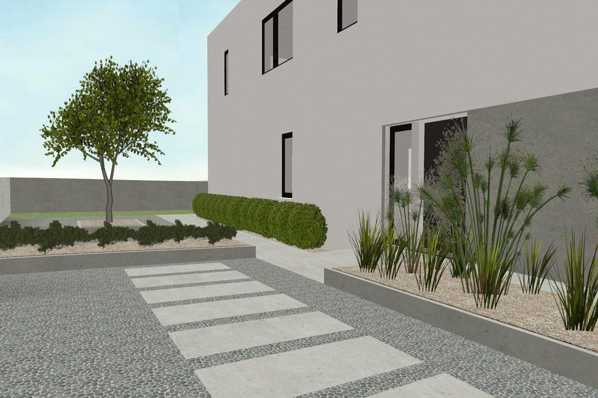 Vorgarten vorgarten garten pinterest vorgarten for Vorgarten minimalistisch