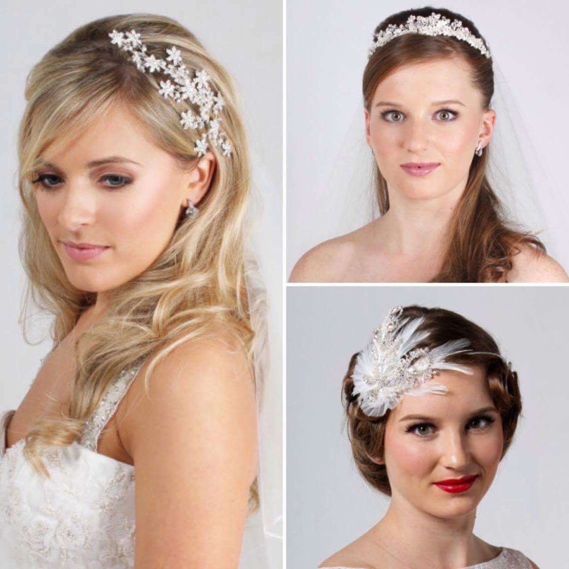 Exquisite bridal hair accessories in store sc bridal boutique