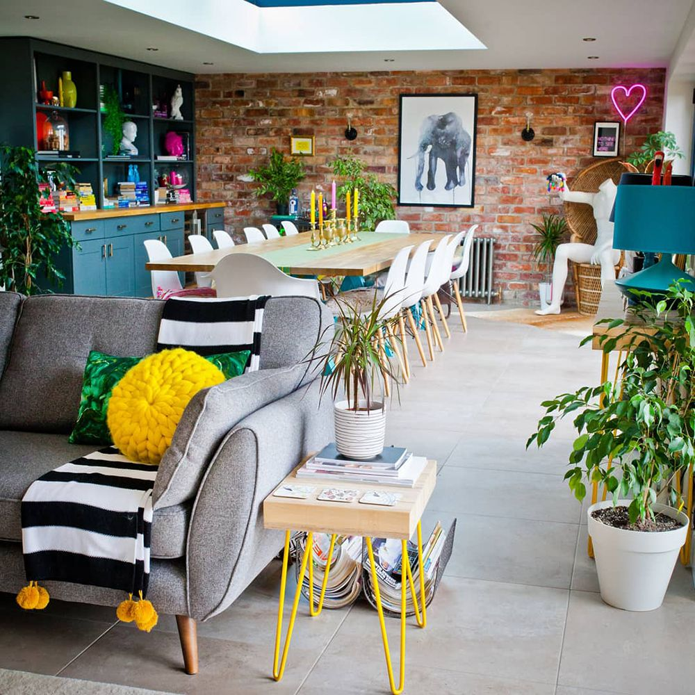 House Tour: A Fabulously Fun & Colourful Family Home images