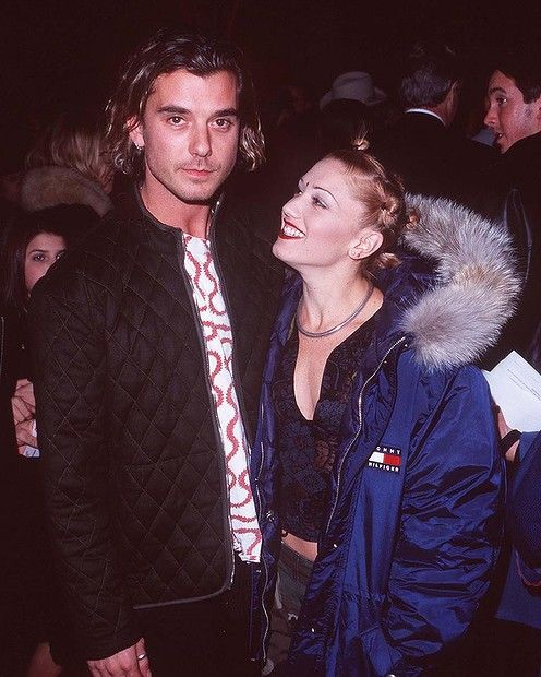 The very 90s alt rock couple Gavin Rossdale and Gwen ...