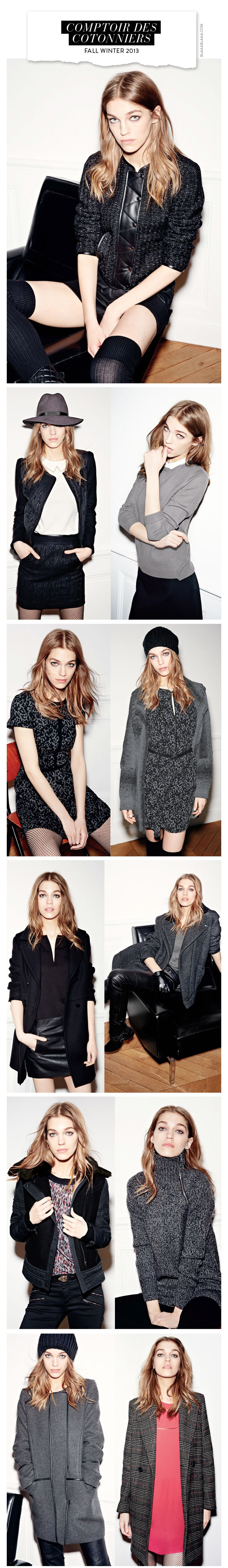 Comptoir des Cotonniers Fall Winter 2013