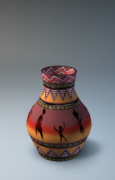 An African Vase Lets Create Pottery Lite Pinterest Pottery
