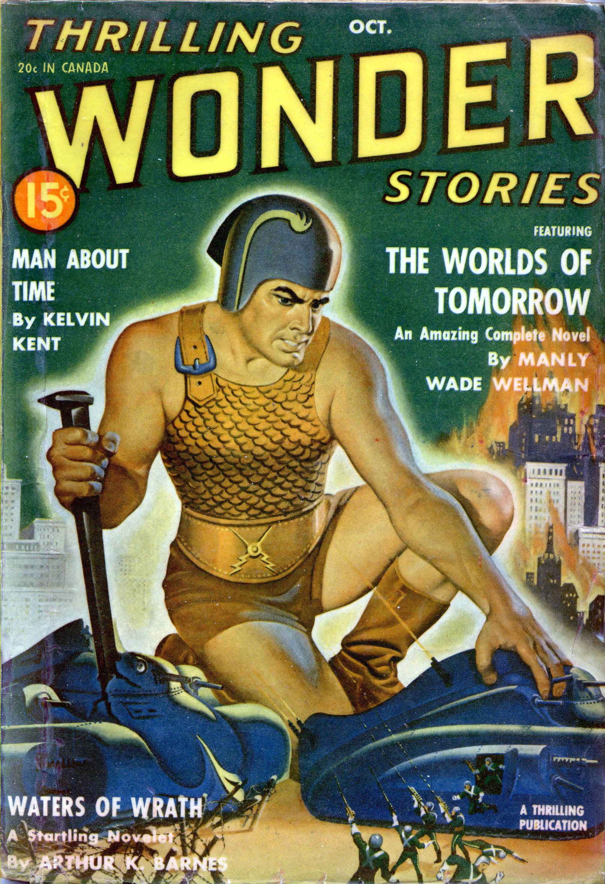 "Thrilling Wonder Stories, October 19XX - ""Waters of Wrath"" - Cover by Earle Bergey - 8692608064_12801412c9_o.jpg (JPEG Image, 2014 × 2940 pixels) - Scaled (20%)"