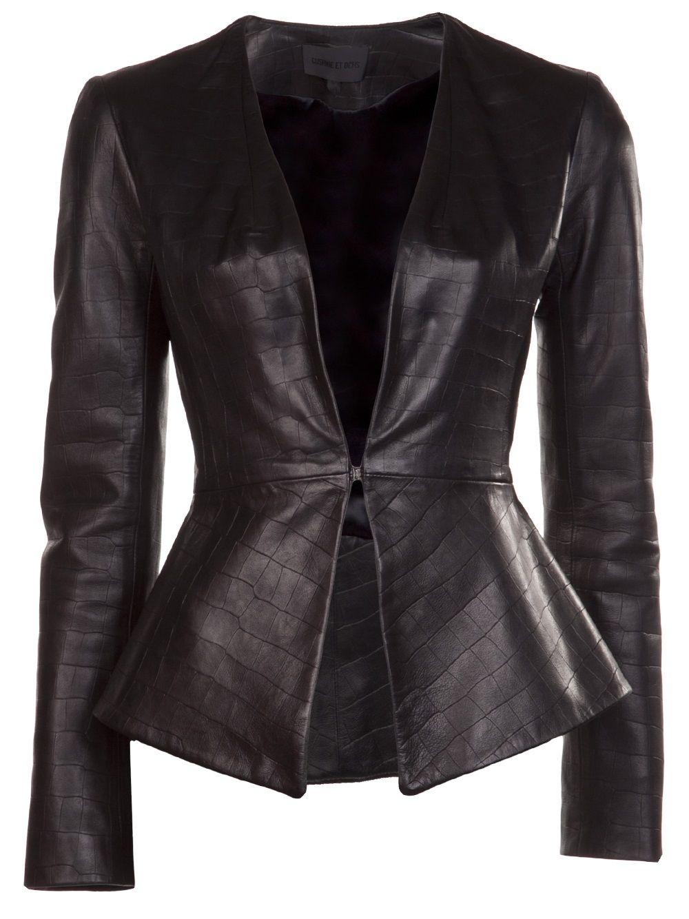 fac158aa1c0e Cushnie Et Ochs Flared Jacket - Elizabeth Charles - Farfetch.com ...