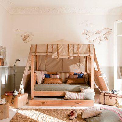 Dormitorio #vintage #infantil #madera