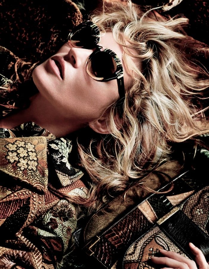 Kate Moss & Nick Fouquet By Mario Testino For Etro Fall