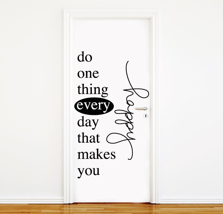 One thing - Vinilos decorativos textos ...
