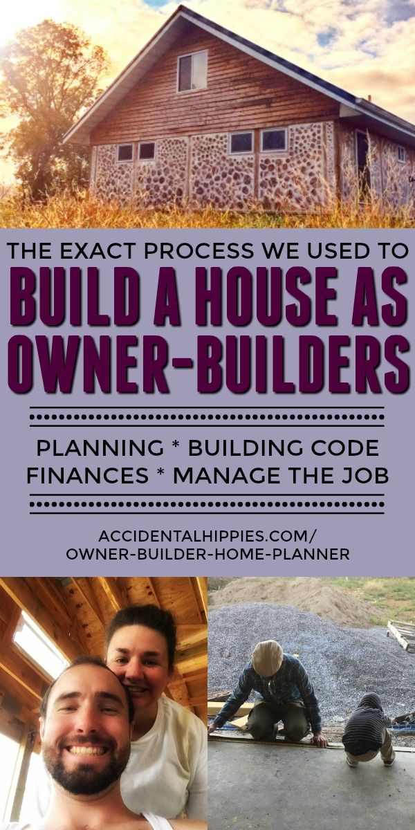 The Owner-Builder Home Planner #buildingahouse