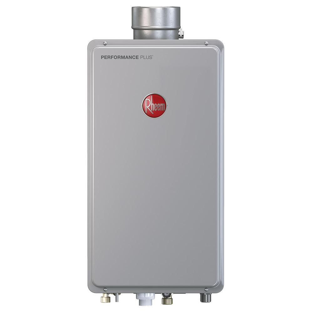 Rheem Performance Plus 9 5 Gpm Natural Gas Indoor Tankless Water Heater Eco200dvln3 1 With Images Water Heater Tankless Water Heater Gpm