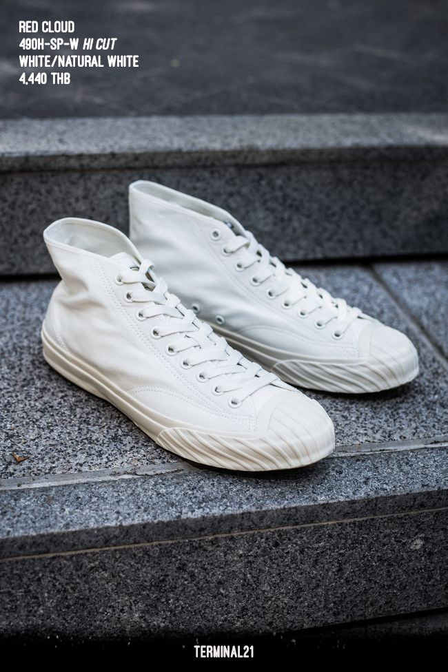 14ca33fb98 Canvas Sneakers by Red Cloud - inspired by fly-fishing shoes of the 50's  and 60's.